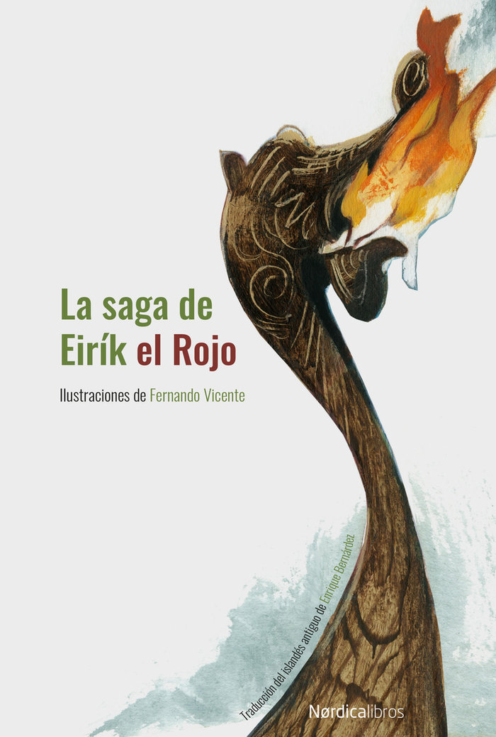 Saga de eirik el rojo,la cartone