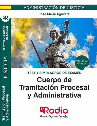 Cuerpo tramitacion procesal y administrativa admini test