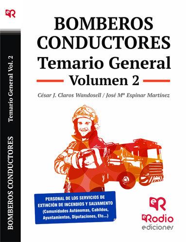 Bomberos conductores temario general volumen 2
