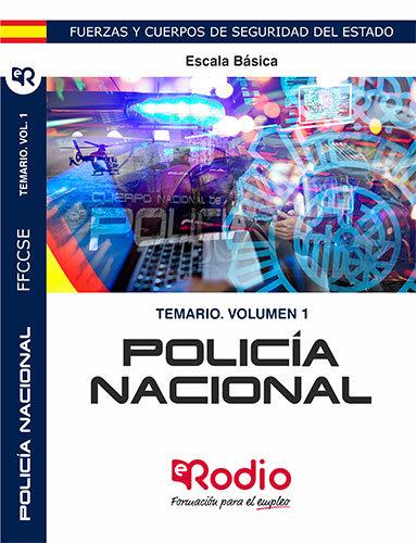 Policia nacional escala basica temario volumen 1