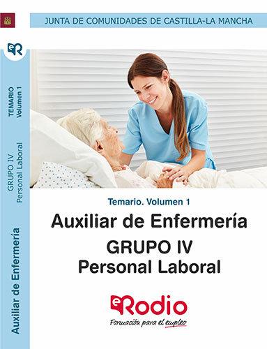 Auxiliar enfermeria personal laboral grupo iv temario 1