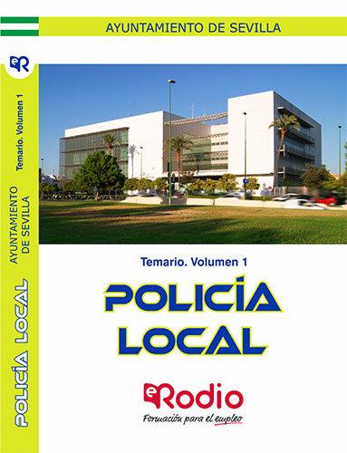 Policia local temario volumen 1
