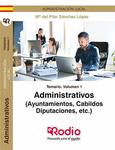 Administrativos (ayuntamientos, cabildos, diputaci