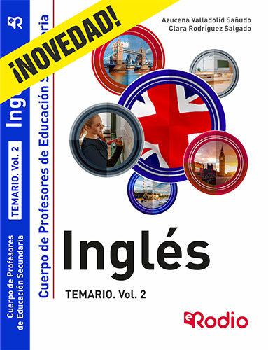 Ingles. temario. volumen 2. cuerpo de profesores de educacio