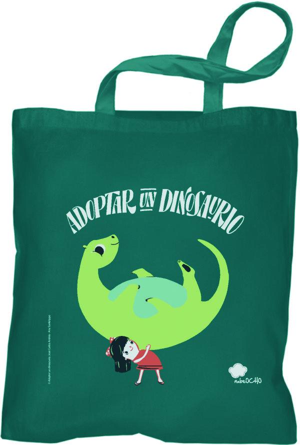Bolsa adoptar un dinosaurio