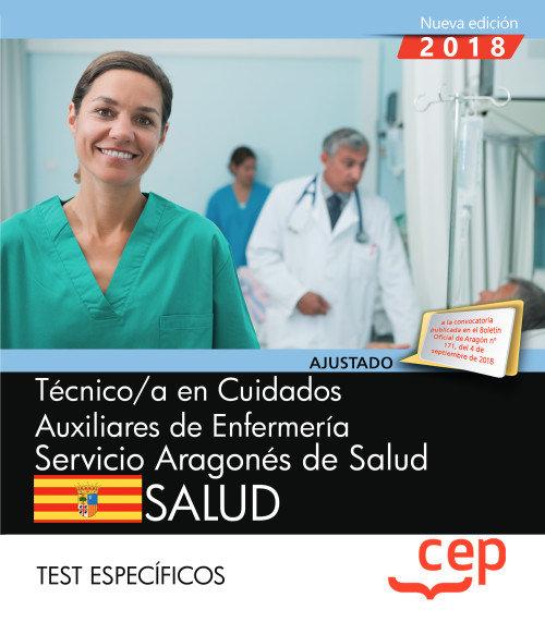 Tecnico/a cuidados auxiliar enfermeria servicio aragon test
