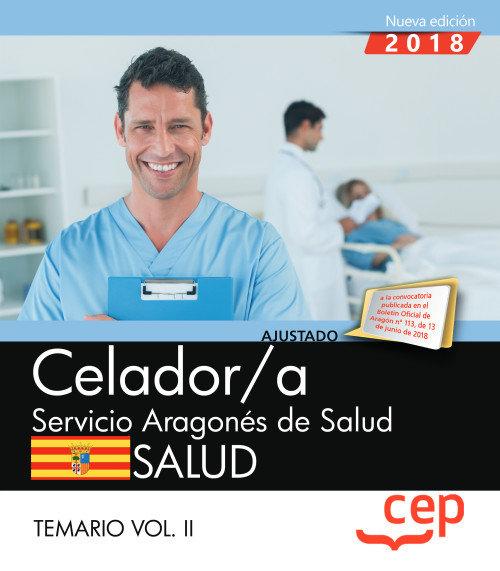 Celador/a servicio aragon salud temario vol 2