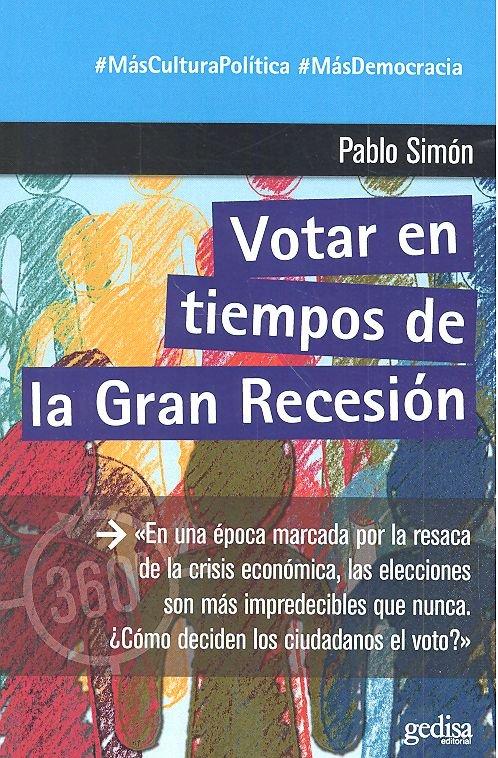 Votar en tiempos de la gran depresion
