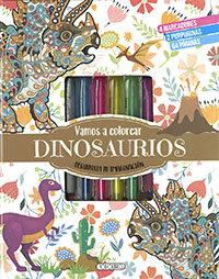 Vamos a colorear dinosaurios