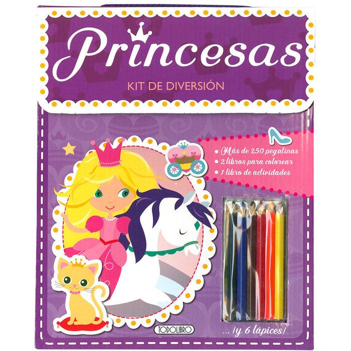Kit de diversion princesas