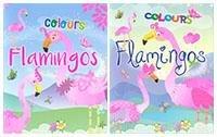 Colours flamingos
