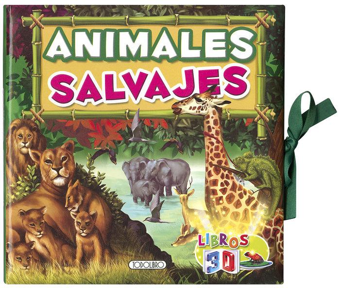 Libros 3d animales salvajes