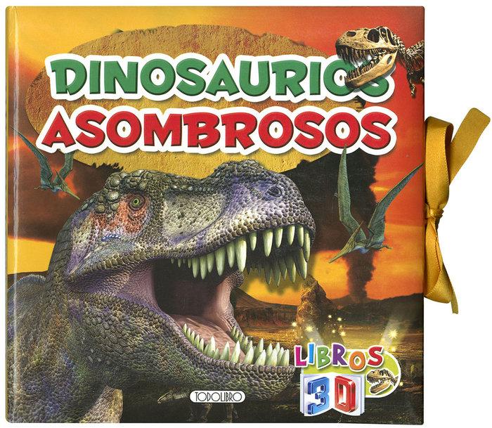 Libros 3d dinosaurios asombrosos