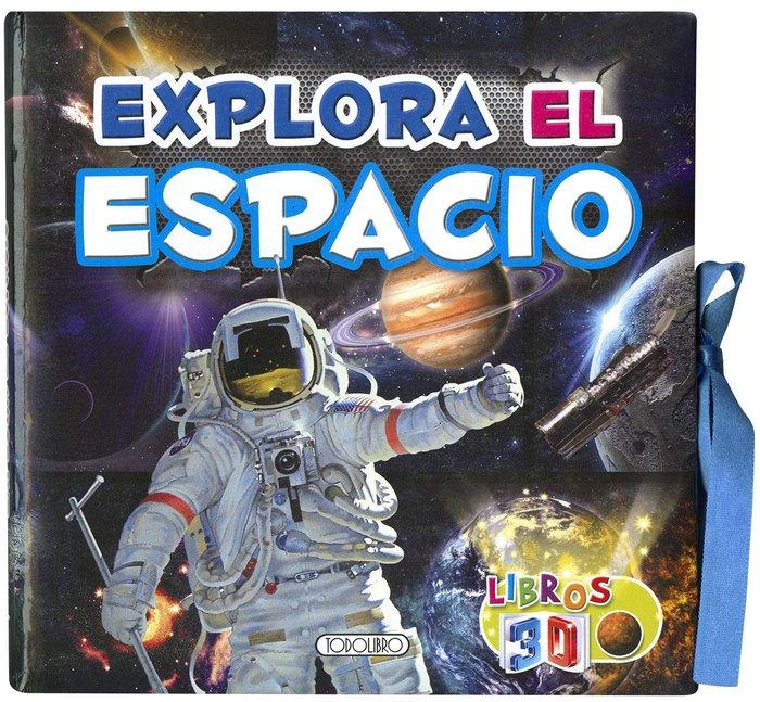 Libros 3d explora el espacio