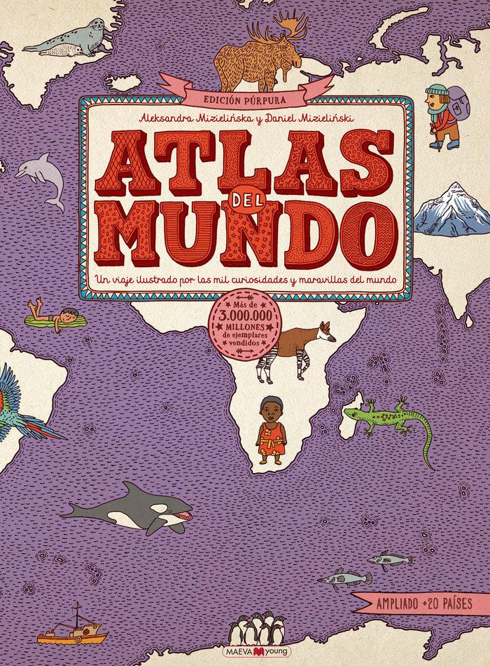 Atlas del mundo edicion purpura