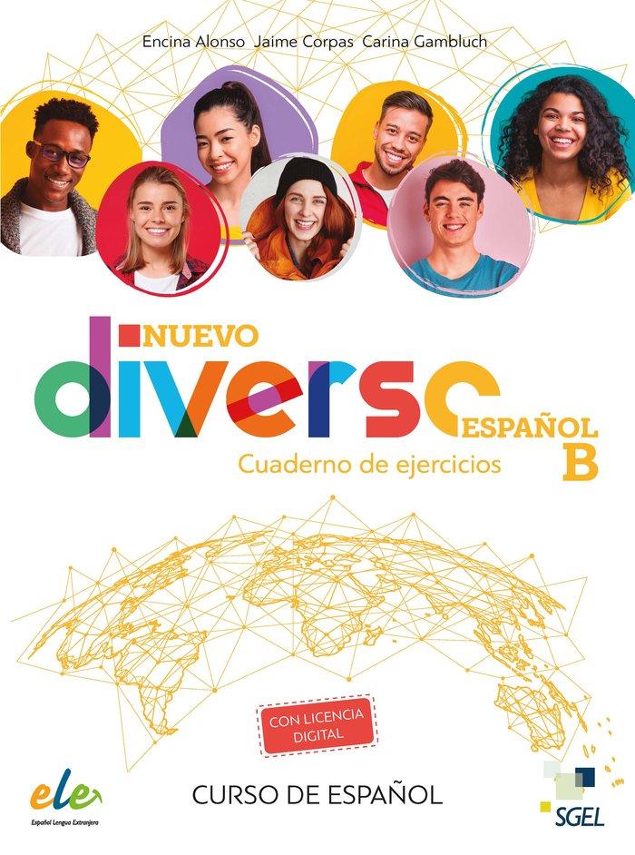 Nuevo diverso español b ejercicios + @
