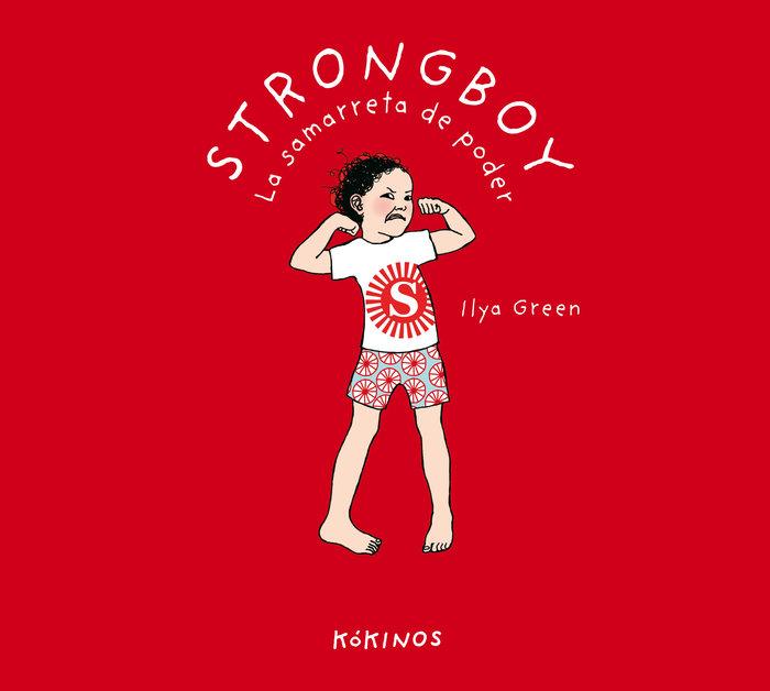 Strongboy la samarreta de poder