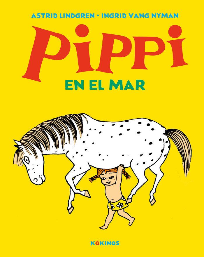 Pippi en el mar