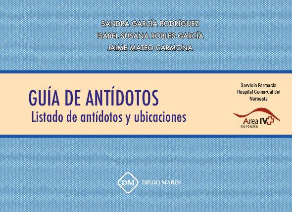 Guia de antidotos. listado de antidotos y ubicaciones