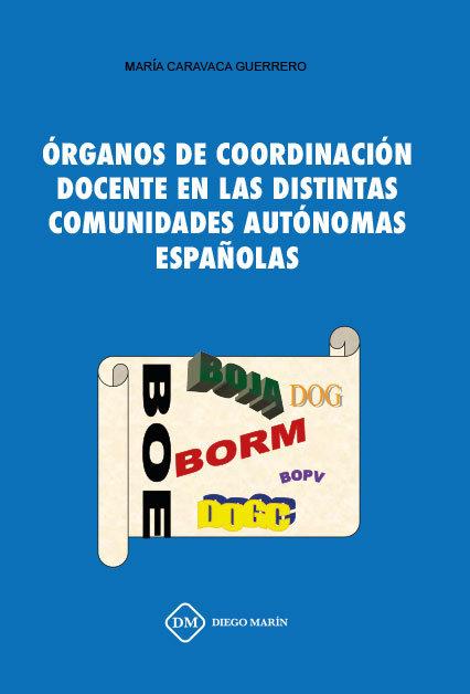 Organos de coordinacion docente en las distintas comunidades
