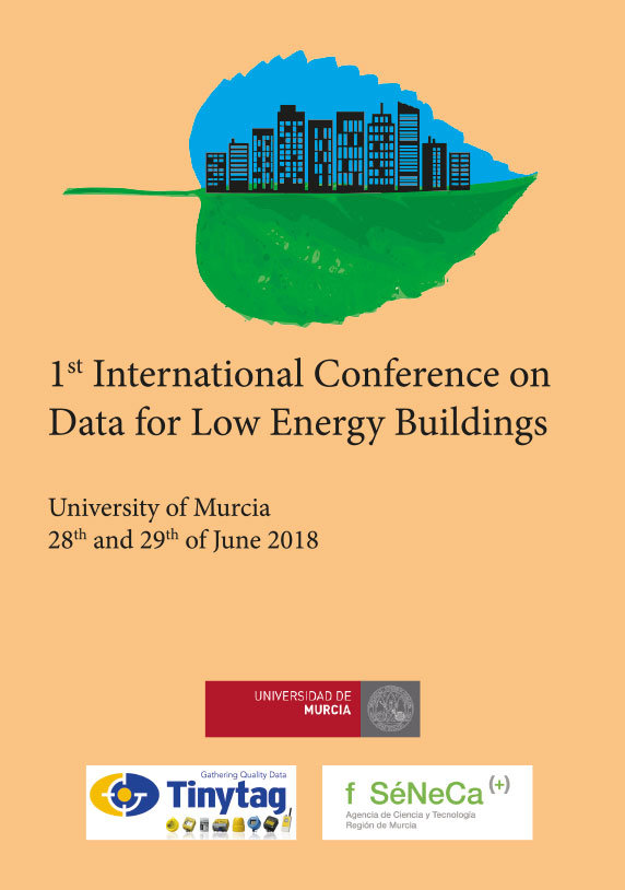 1st international conference on data for low energy building