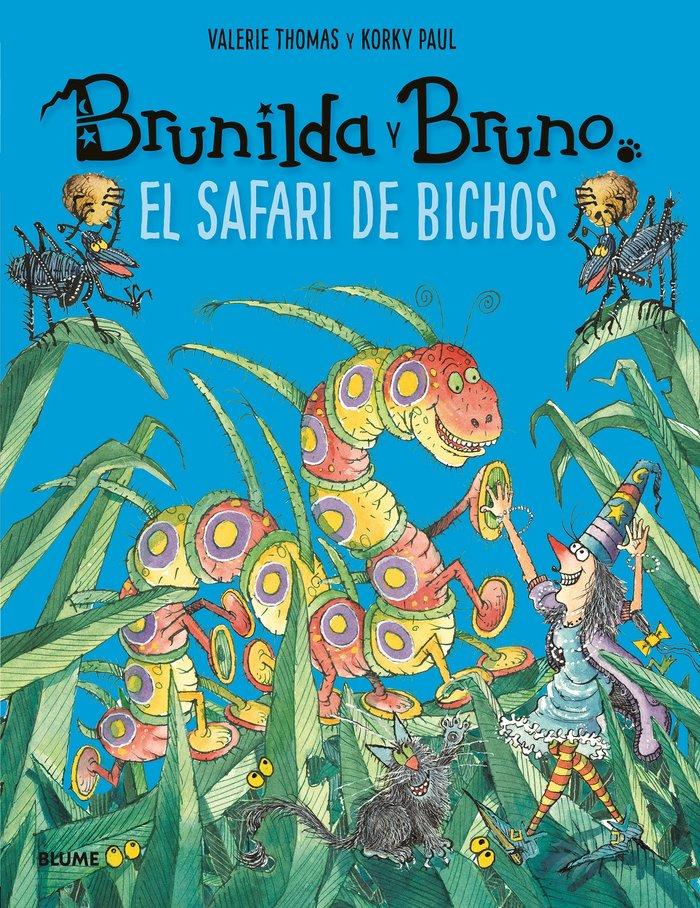 Brunilda y bruno. safari de bichos