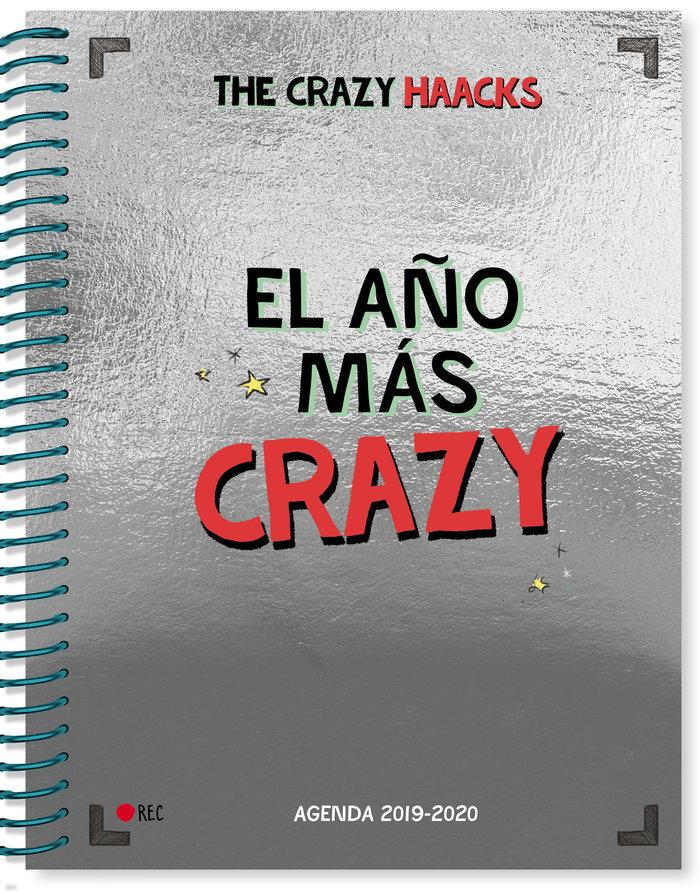 El año mas crazy agenda curso 2019-2020 serie the crazy h