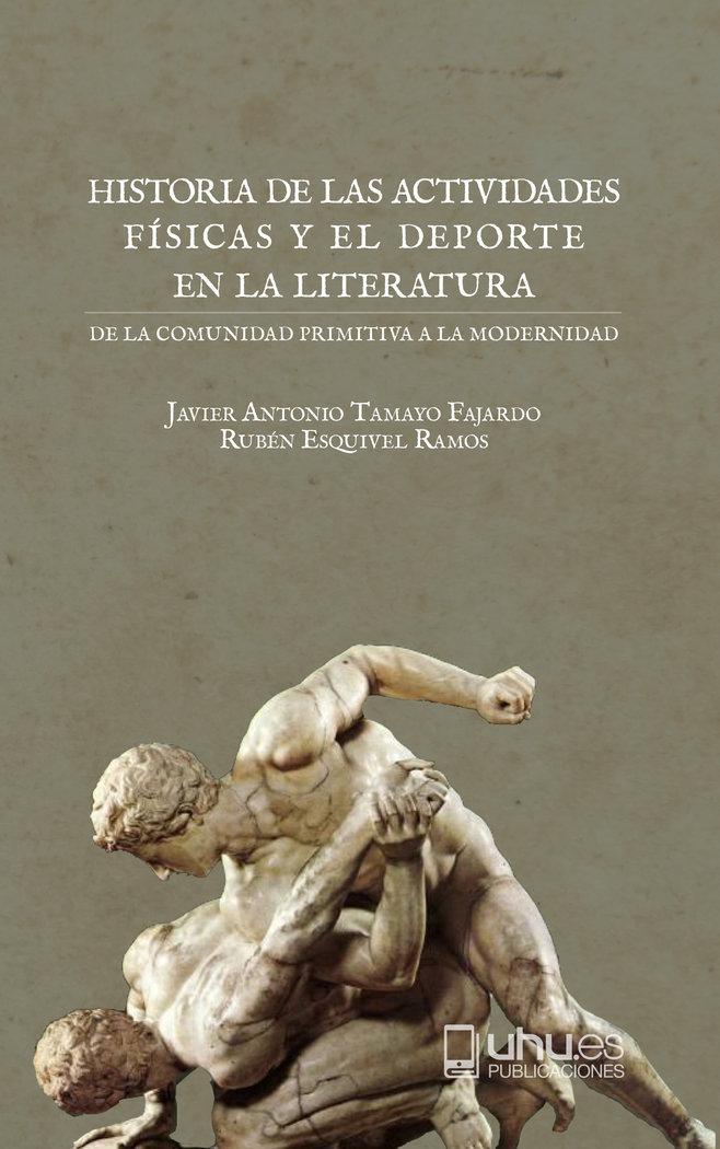 Historia de las actividades fisicas y el deporte en la liter
