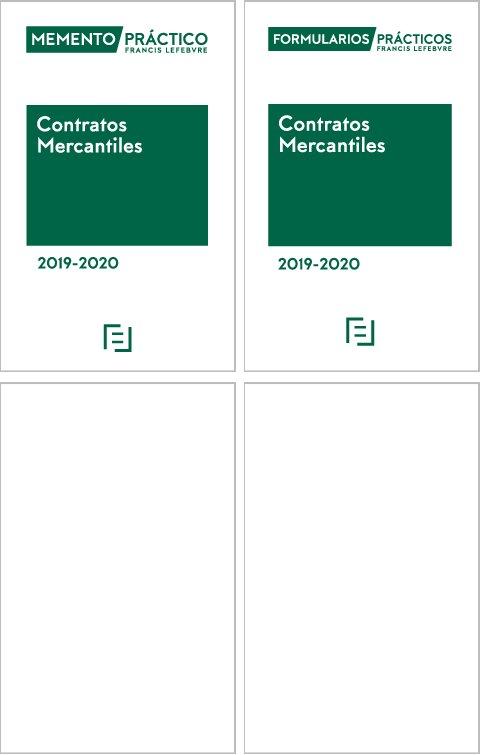 Pack contratos mercantiles 2019 2020 memento contratos mer
