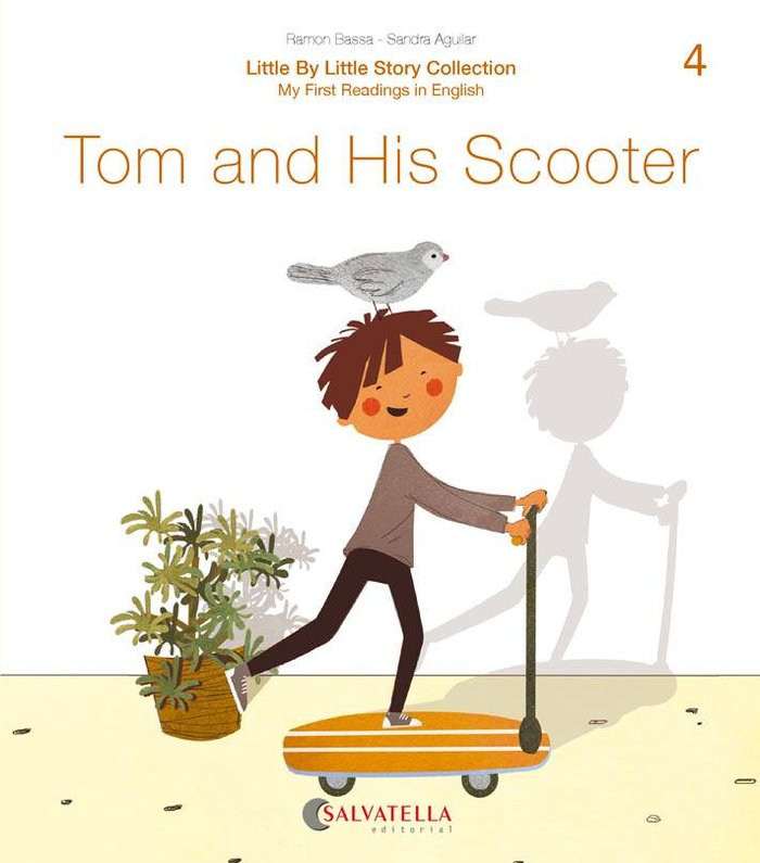 Tom and his scooter