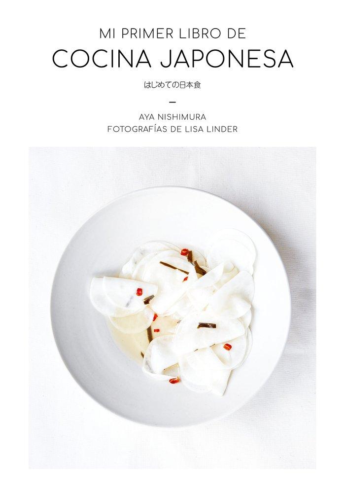 Mi primer libro de cocina japonesa