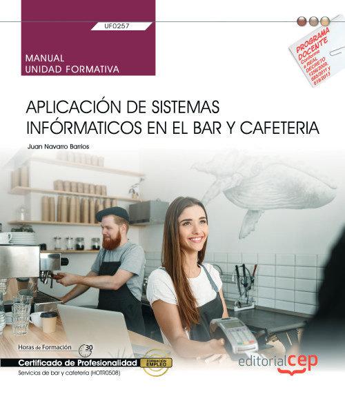 Manual aplicacion sistema informatico en bar y cafeteria