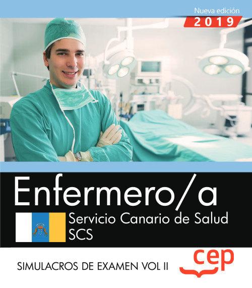 Enfermero/a servicio canario salud scs simulacro examen 2
