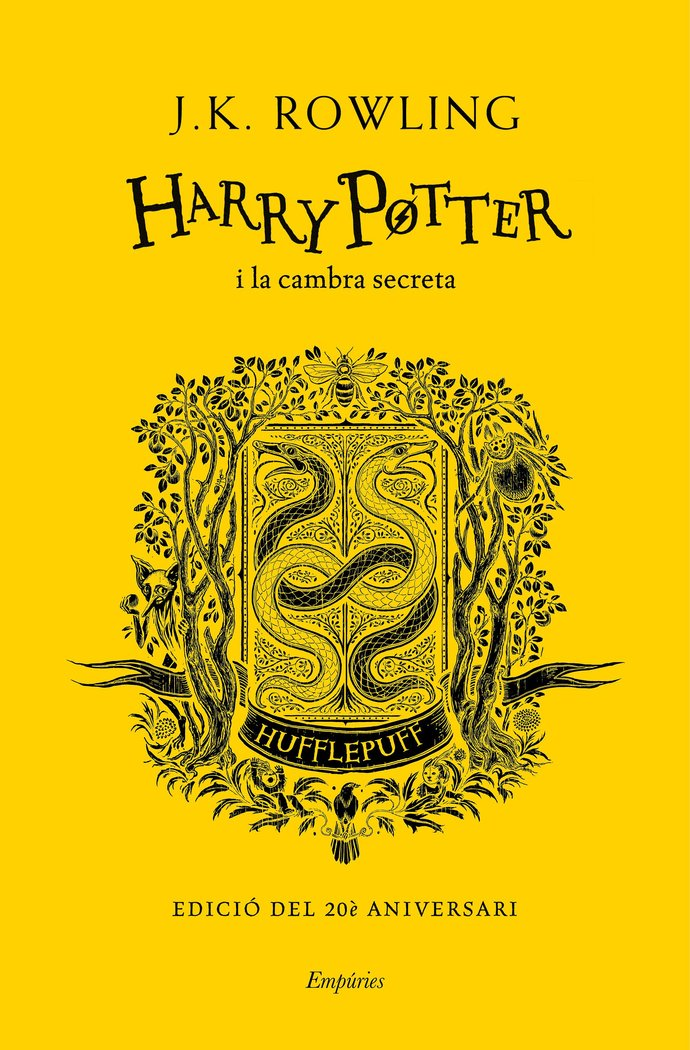 Harry potter i la cambra secreta hufflepu