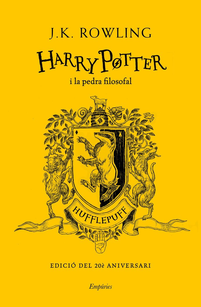 Harry potter i la pedra filosofal hufflep