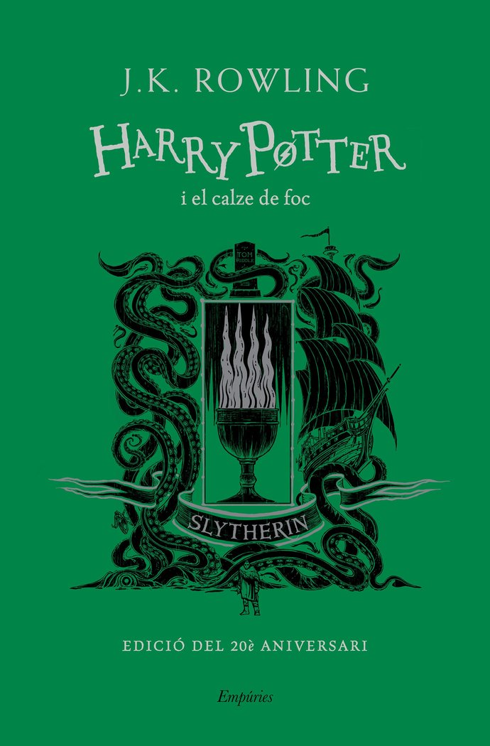 Harry potter i el calze de foc slytherin