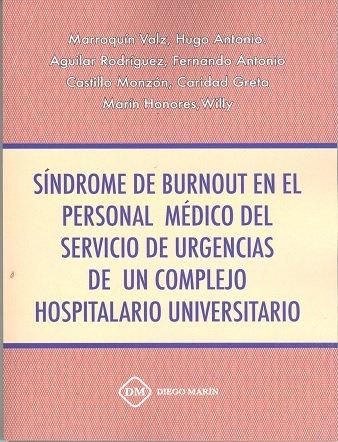 Sindrome de burnout en el personal medico del servicio de ur