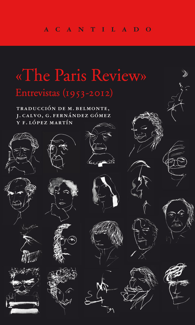 Paris review estuche con dos volumenes,the