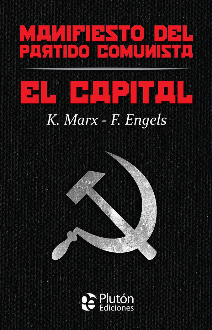 Capital y manifiesto del partido comunista,el