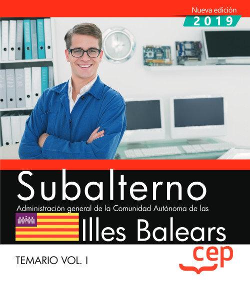 Subalterno administracion general illes balears vol 2