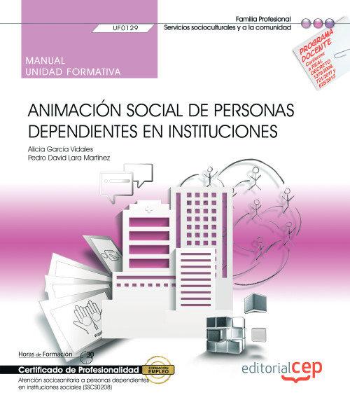 Manual animacion social personas dependientes instituciones