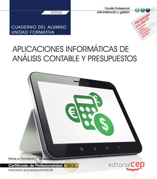 Cuaderno alumno aplicaciones informaticas de analisis conta