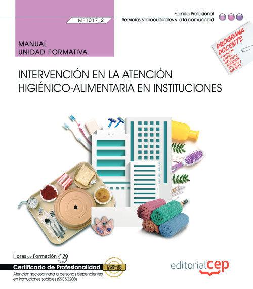 Manual intervencion atencion higienico alimentaria