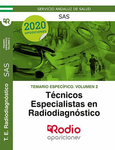 Tecnico especialista radiodiagnostico sas vol 2