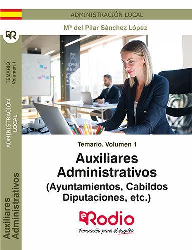 Temario volumen 1 auxiliares administratat