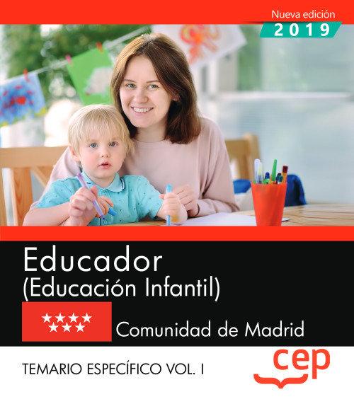 Educador educacion infantil comunidad madrid temario 1