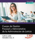 Cuerpo gestion procesal y administrativa administracion jus