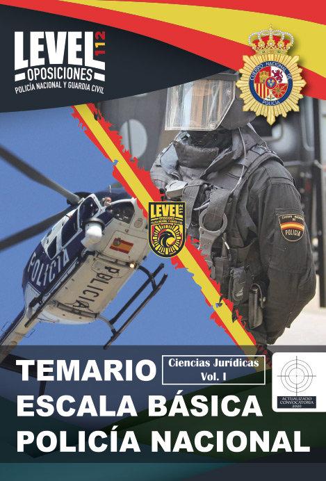 Temario acceso escala basica policia nacional vol. 1 ciencia