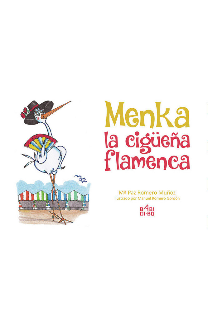 Menka la cigueña flamenca