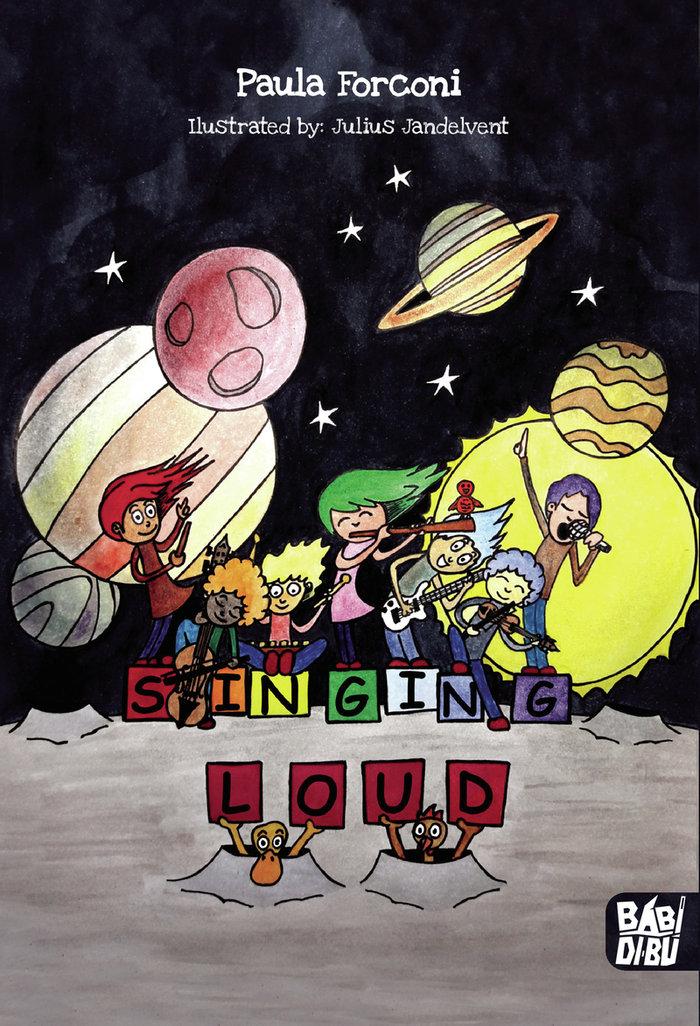 Singing loud ing